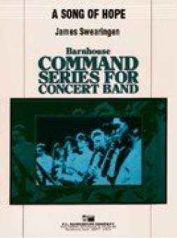 4333d8a7898 A Song of Hope | James Swearingen - concert band Noten & Partituren ...