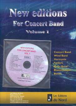 077d9b9adee Promo Kat + CD: Editions du Nord - New Editions for Concert Band Vol ...
