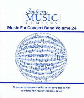 26da09931c5 Promo CD: Southern Music - Concert Band Volume 24 - concert band ...
