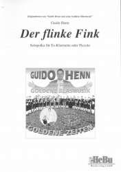 Der flinke Fink (Solopolka für Es-Klarinette oder Piccolo) - Guido Henn