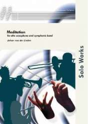 Meditation for Alto Saxophone and Band - Johan van der Linden