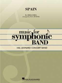 ba04526de95 Spain Armando A. (Chick) Corea / Arr. Paul Murtha. Concert Band/Harmonie