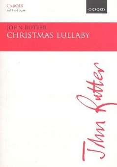 Christmas Lullaby - SATB vocal score John Rutter