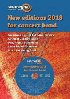 ddbd5439953 Promo Kat + CD: Scomegna - New Music for Concert Band 2018 ...